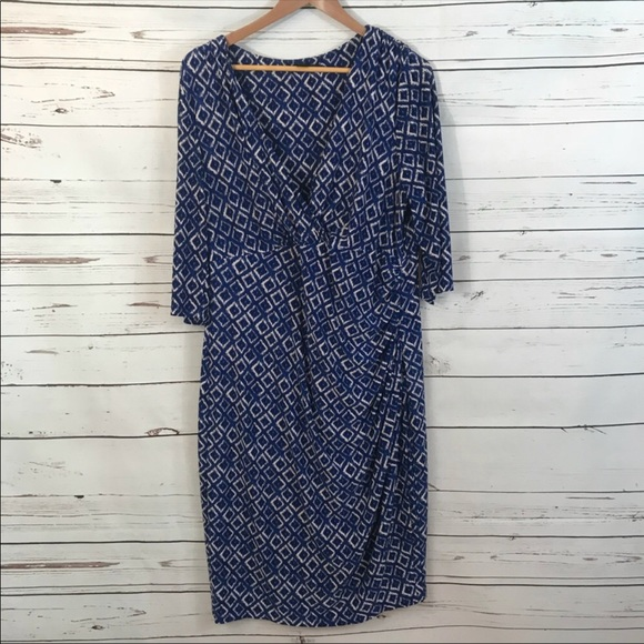 Lauren Ralph Lauren Plus Size Dress, Size 16